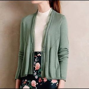 Angel of the North Anthropologie Aral Cardigan S